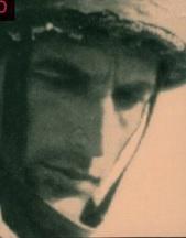 תמונתו של בצר כפי שהופיע על כריכת ספרו ''Secret Soldier''